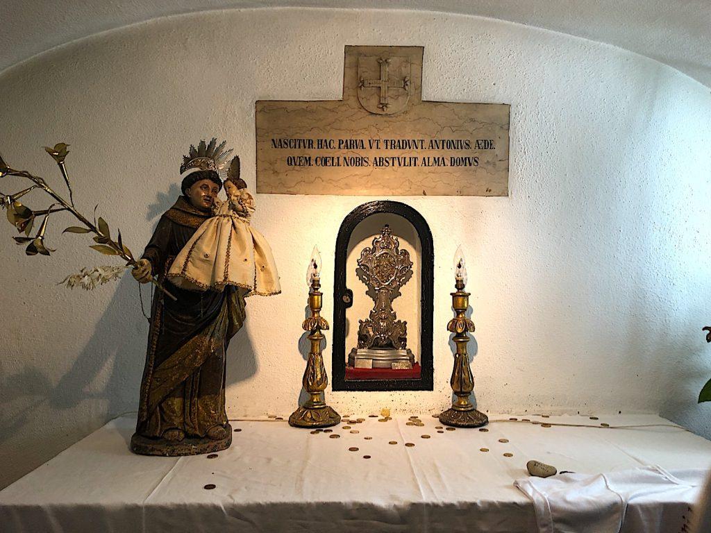 Igreja de Santo António de Lisboa - crypte