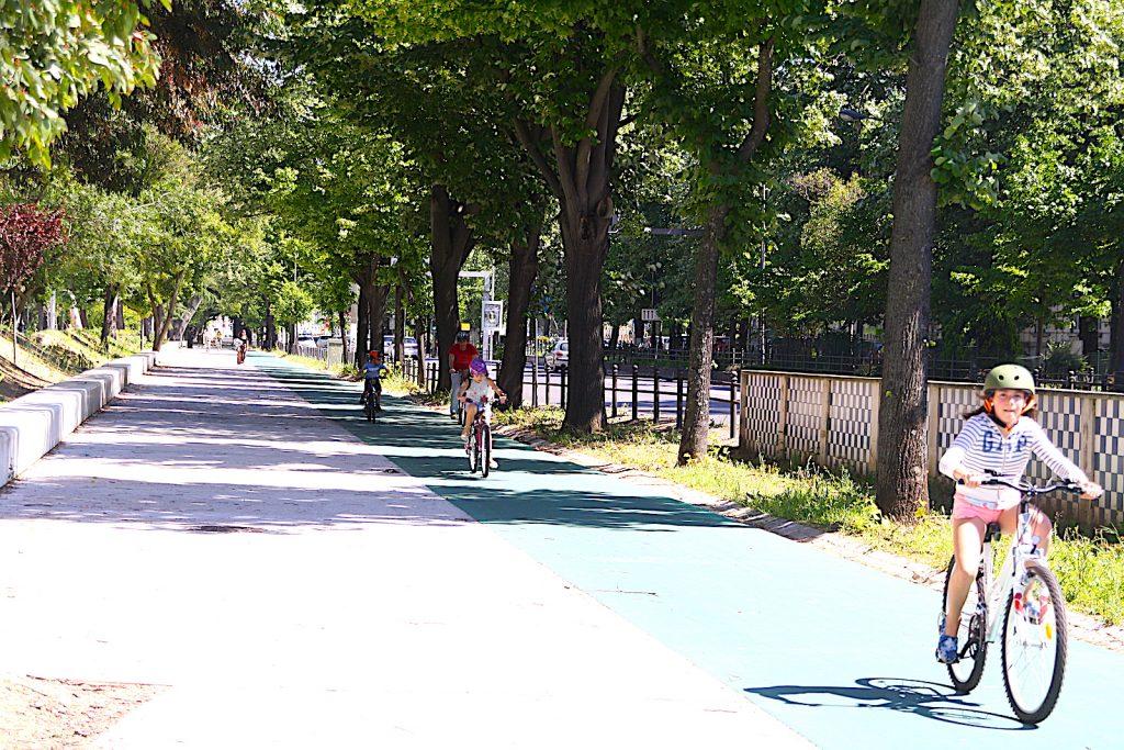 Jardim Campo Grande - fietspad
