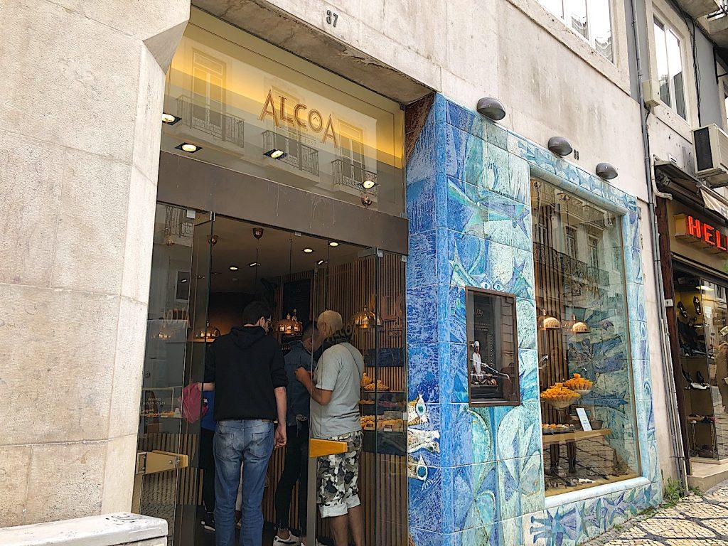 Pastelaria Alcoa gevel