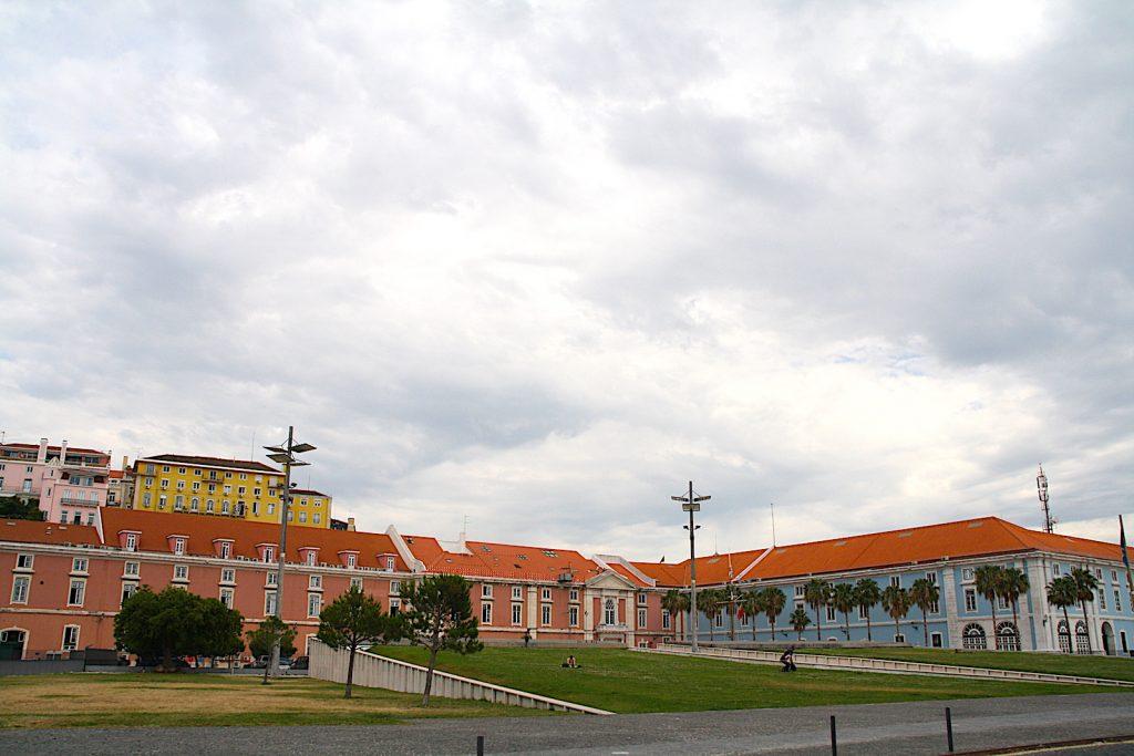 Ribeira das Naus park voor ministerie
