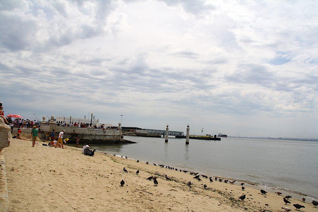 Ribeira das Naus - strand