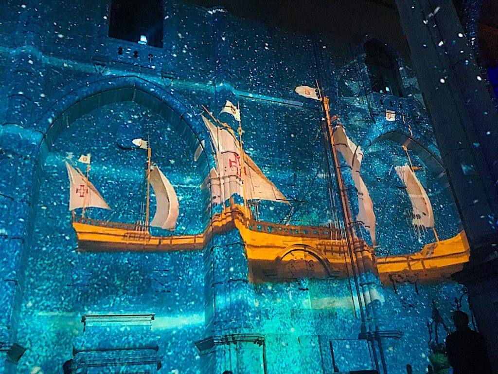 Lisbon under stars - vasco da gama
