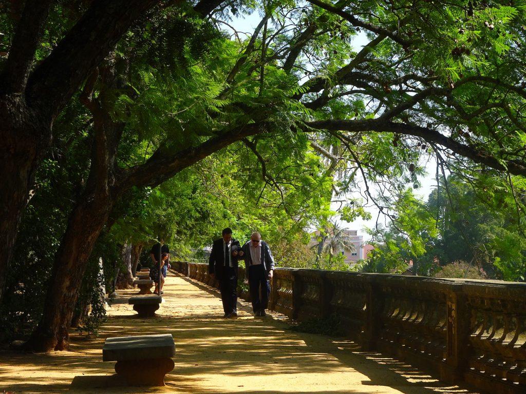 Jardim Botánico de Ajuda - balkon
