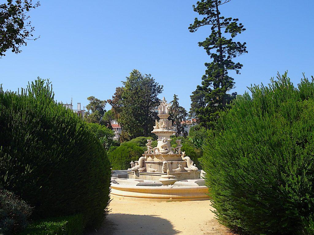 Jardim Botánico de Ajuda - fontein