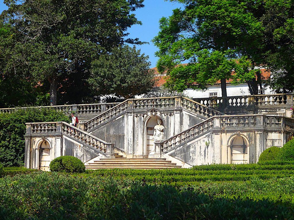 Jardim Botánico de Ajuda - trap naar balkon