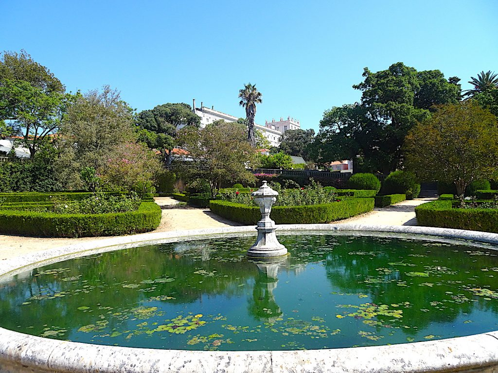 Jardim Botánico de Ajuda - vijver