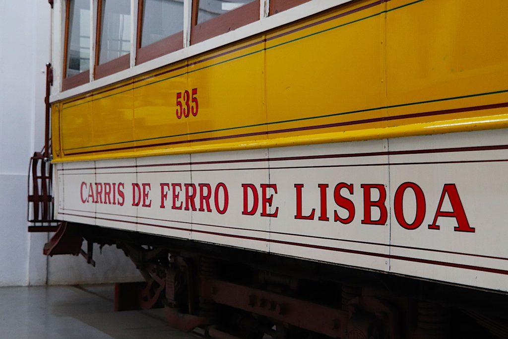 Museu da Carris - buitenkant tram