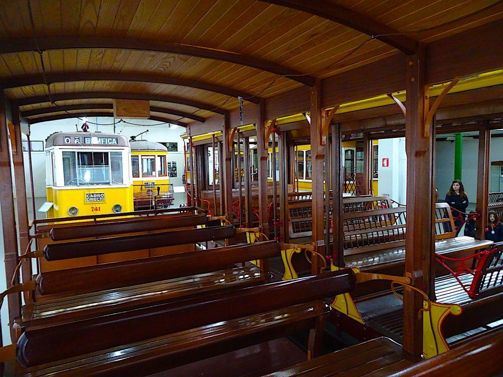 Museu da Carris - tram van binnen