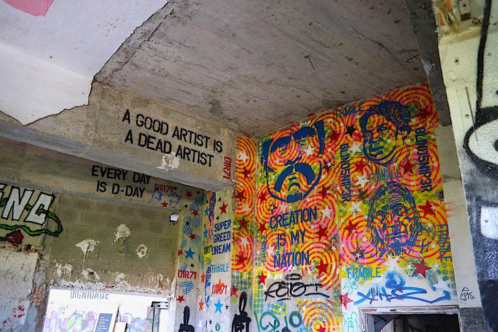 Panorâmico de Monsanto - graffitimuur