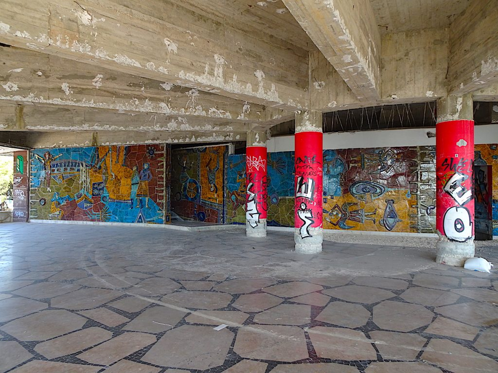 Panorâmico de Monsanto - orginele muur