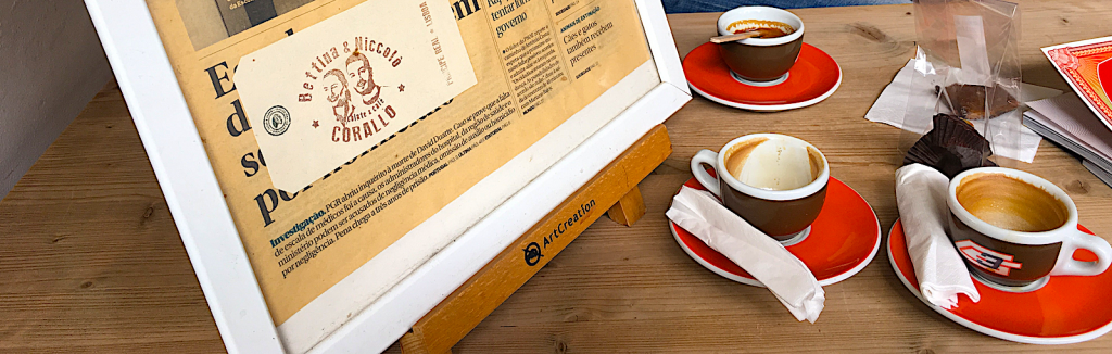 Koffie - Bettina en Niccolo