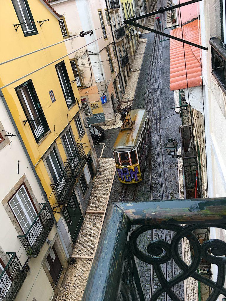Bica tram apartement - uitzicht