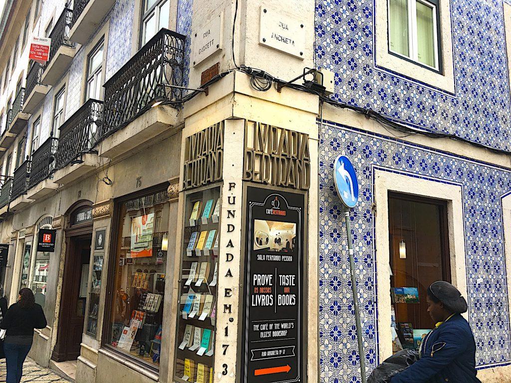 Livraria Bertrand Chiado - voorkant