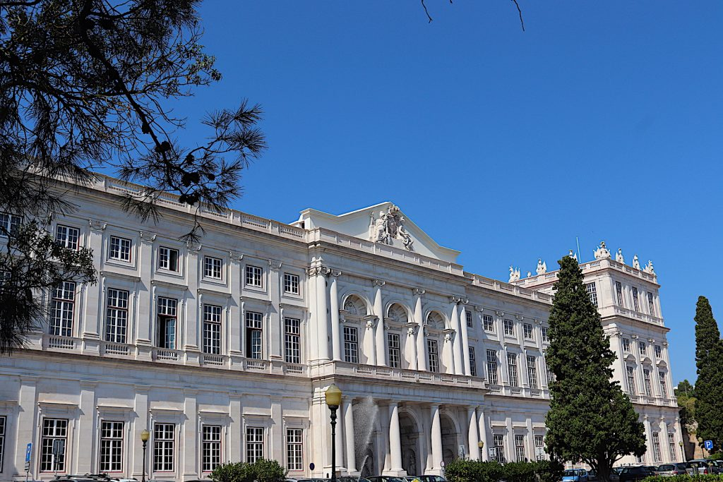 Paleis Ajuda - gebouw