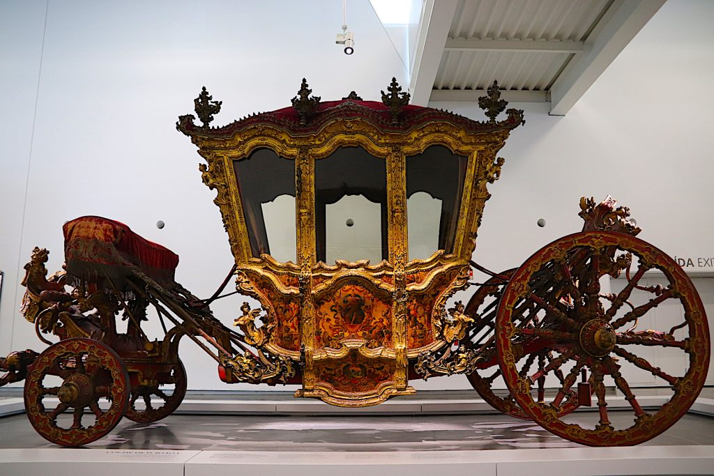 Museu Nacional dos Coches koets koningin