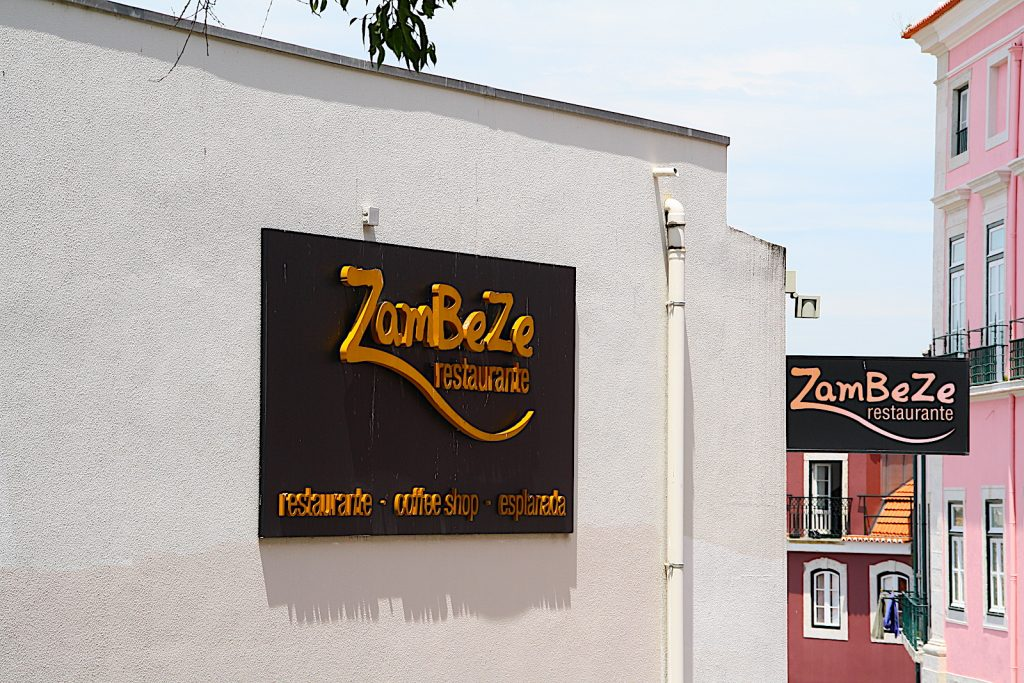 Restaurante Zambeze ingang