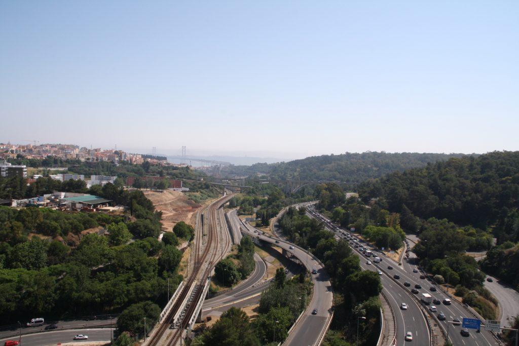 Aqueduto das Águas Livres - uitzicht