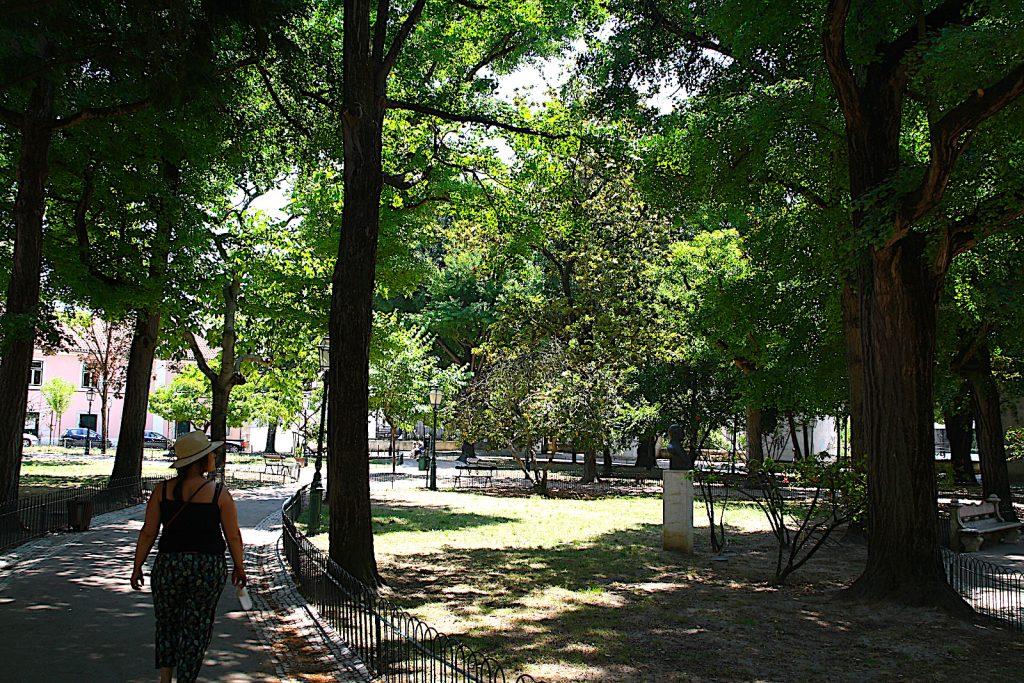 Jardim Amoreiras overzicht