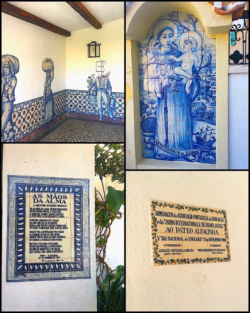 Páteo Alfacinha azulejos