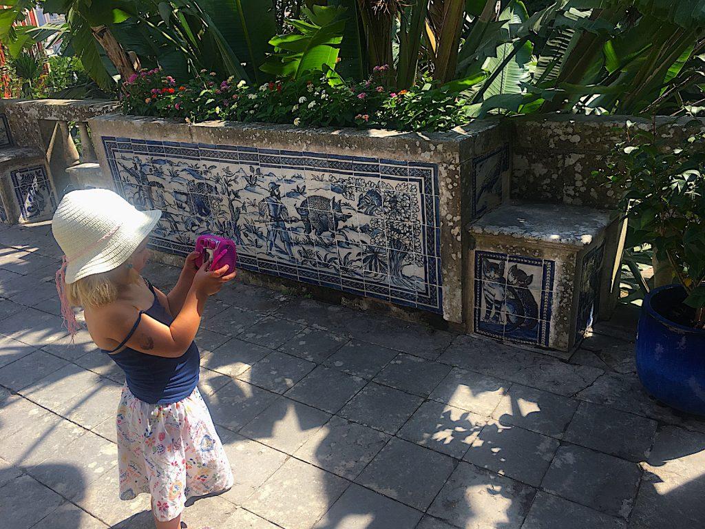 Palácio dos Marqueses de Fronteira kindvriendelijk