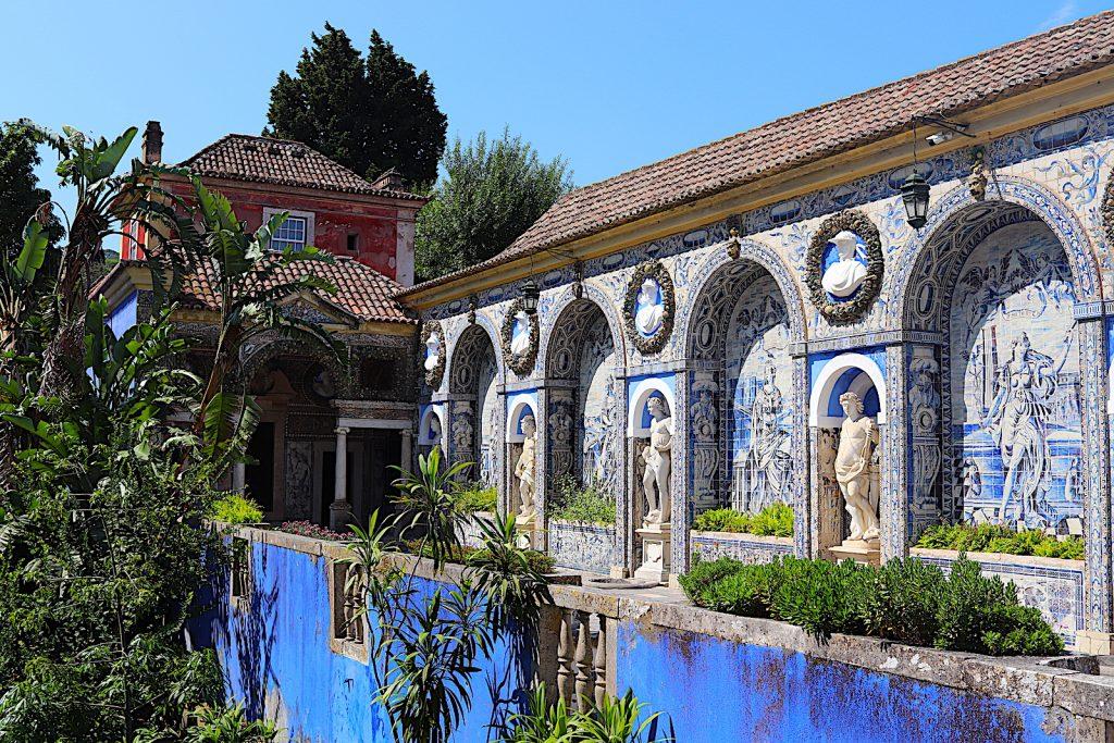 Palácio dos Marqueses de Fronteira planeten