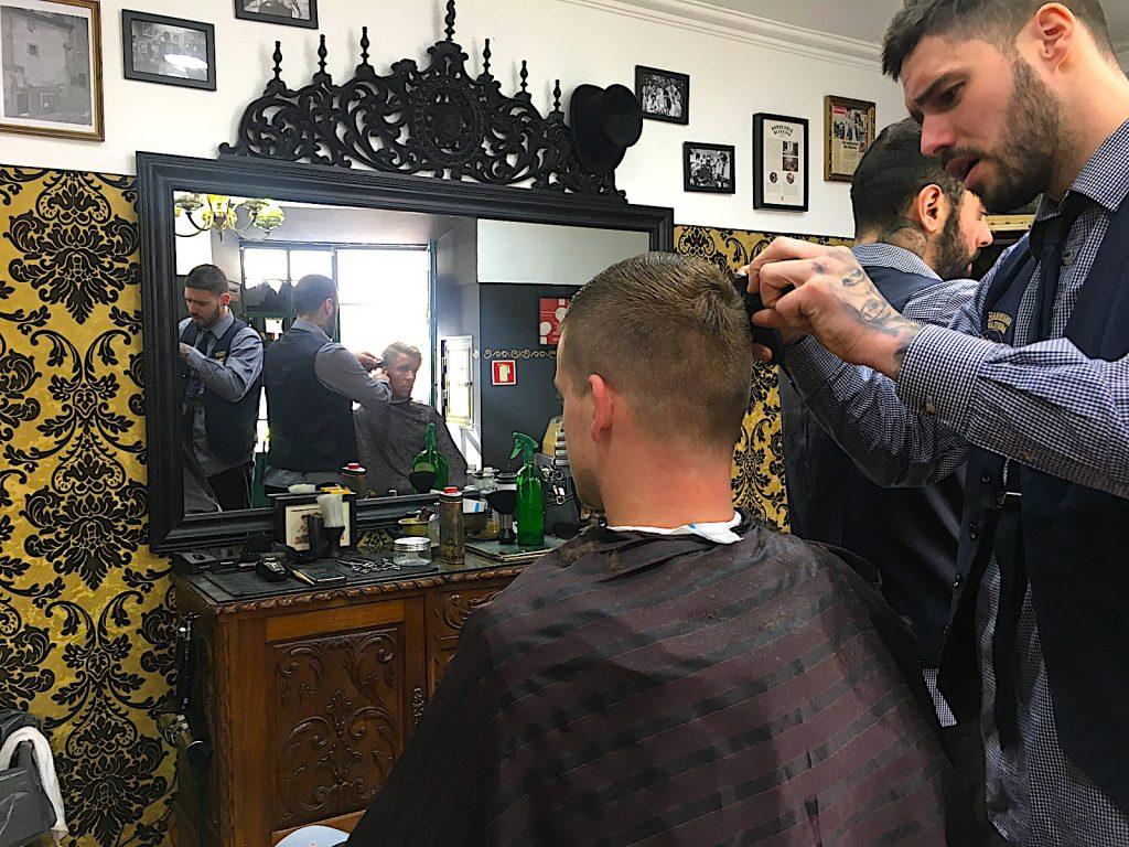 Barbearia Oliveira - naar de kapper