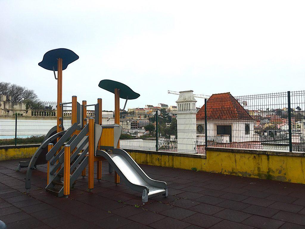 Jardim do Torel - glijbaan