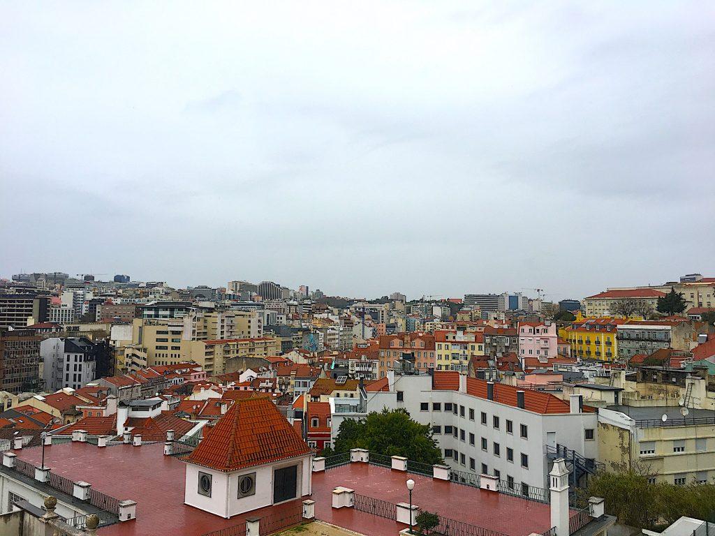Jardim do Torel - uitzicht vanaf het park