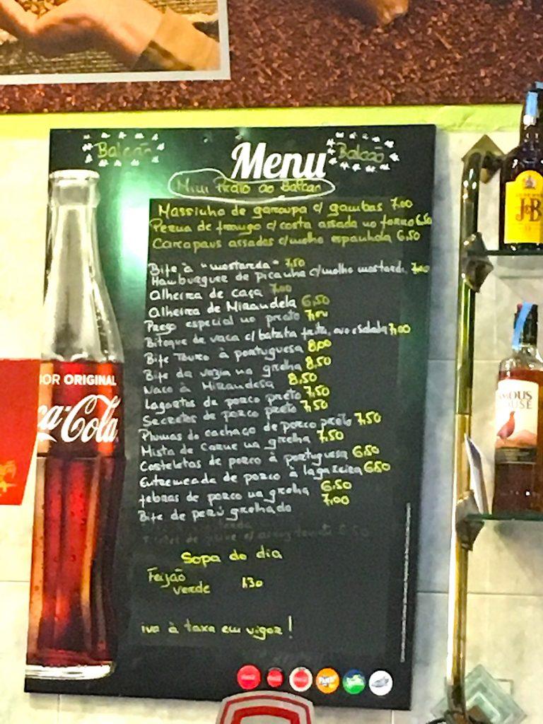 Popular Do Capelo - menu