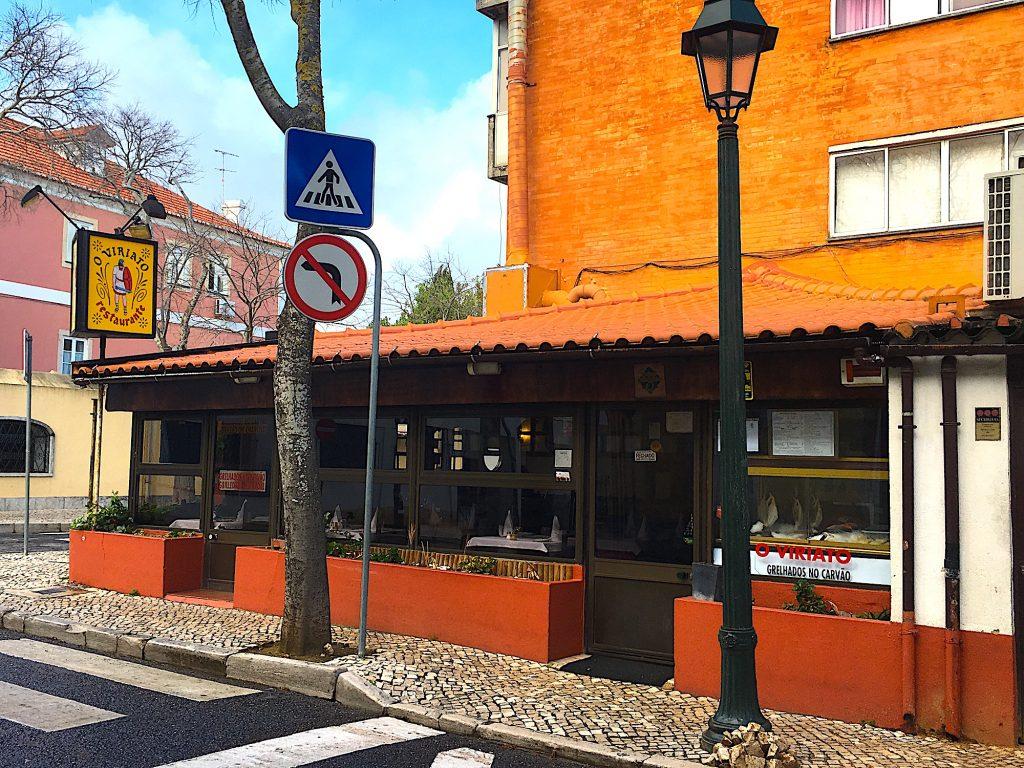 Restaurant O Viriato - ingang