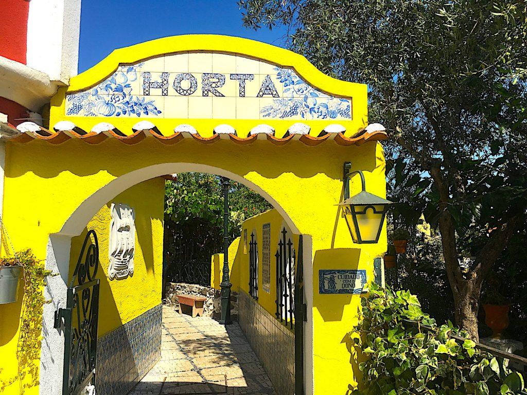 Horta - ingang