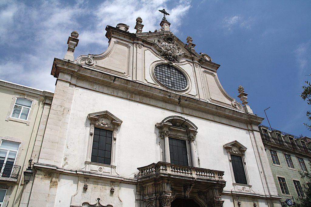Igreja de São Domingos - buitenkant