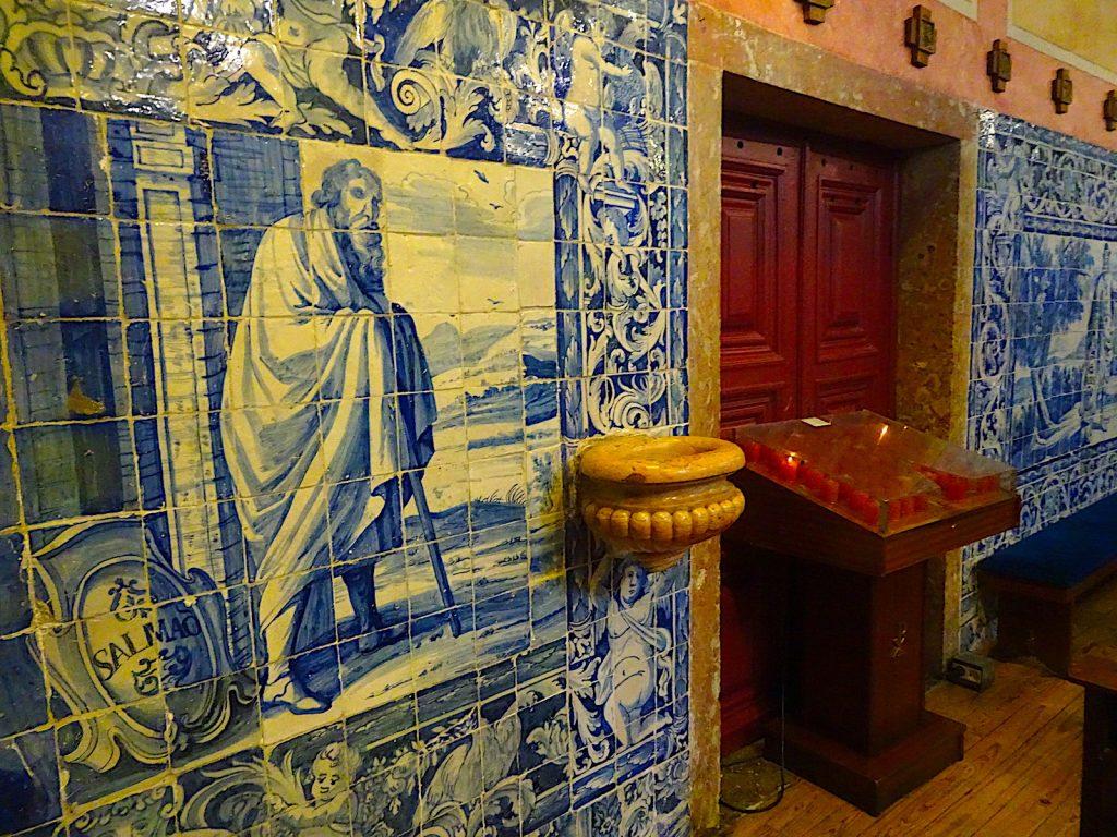 Igreja de Nossa Senhora da Saúde azulejos
