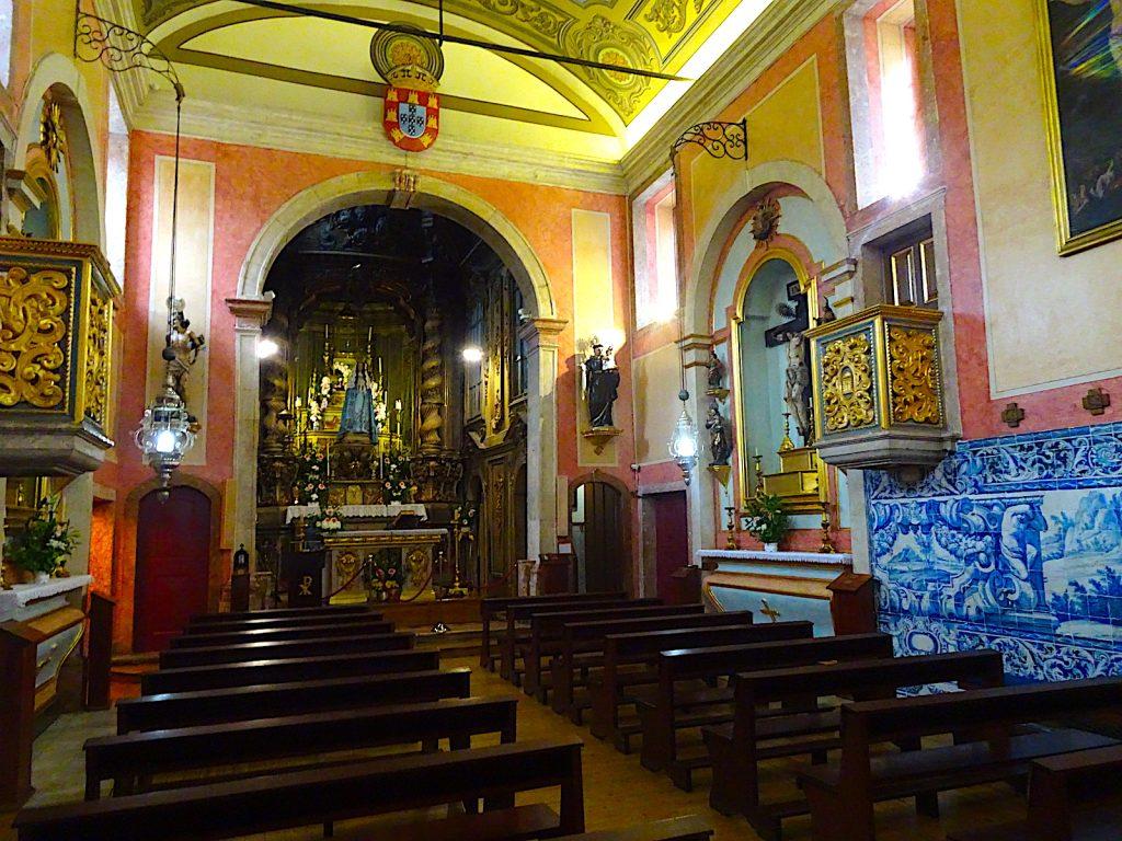 Igreja de Nossa Senhora da Saúde - binnenin