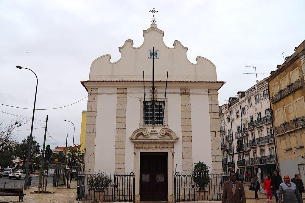Igreja de Nossa Senhora da Saúde - voorkant