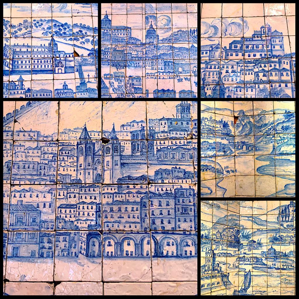Museu Nacional do Azulejo overzicht stad